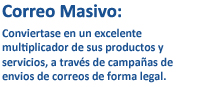 CORREO MASIVO